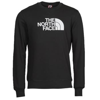 Îmbracaminte Bărbați Hanorace  The North Face DREW PEAK CREW Negru / Alb
