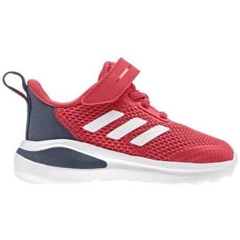 Pantofi Copii Trail și running adidas Originals Fortarun K Roșii, Gri