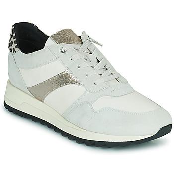 Pantofi Femei Pantofi sport Casual Geox TABELYA Alb