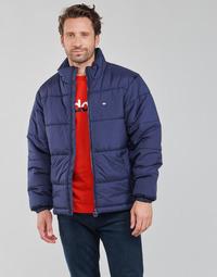 Îmbracaminte Bărbați Geci adidas Originals PAD STAND PUFF Albastru-cerului / De / Night
