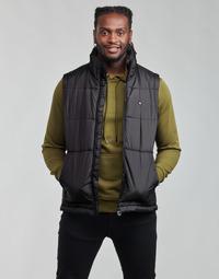 Îmbracaminte Bărbați Geci adidas Originals PADDED VEST Negru
