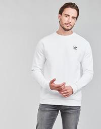 Îmbracaminte Bărbați Hanorace  adidas Originals ESSENTIAL CREW Alb