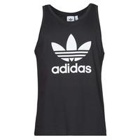 Îmbracaminte Bărbați Maiouri și Tricouri fără mânecă adidas Originals TREFOIL TANK Negru