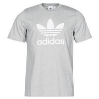 Îmbracaminte Bărbați Tricouri mânecă scurtă adidas Originals TREFOIL T-SHIRT Heather / Gri / Moyen