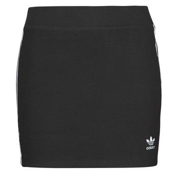 Îmbracaminte Femei Fuste adidas Originals 3STRIPES SKIRT Negru