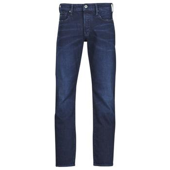 Îmbracaminte Bărbați Jeans drepti G-Star Raw 3301 STRAIGHT Albastru