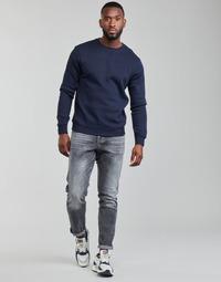 Îmbracaminte Bărbați Jeans drepti G-Star Raw 3301 STRAIGHT TAPERED Gri