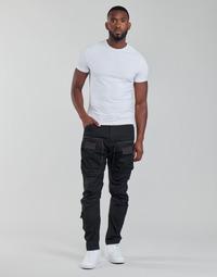 Îmbracaminte Bărbați Pantaloni Cargo G-Star Raw 3D STRAIGHT TAPERED CARGO Negru