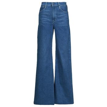 Îmbracaminte Femei Jeans bootcut G-Star Raw DECK ULTRA HIGH WIDE LEG Albastru