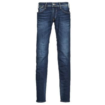 Îmbracaminte Bărbați Jeans slim Le Temps des Cerises 712 BAS Albastru