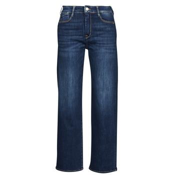 Îmbracaminte Femei Jeans drepti Le Temps des Cerises PULP HIGH WAIST Albastru