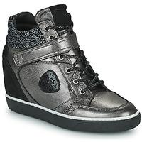 Pantofi Femei Pantofi sport stil gheata Philippe Morvan NOEK Negru / Argintiu
