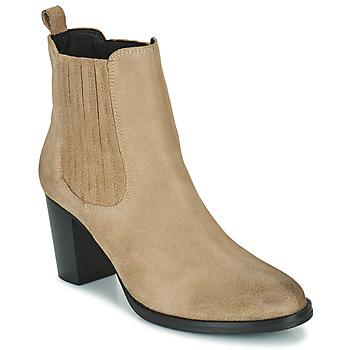 Pantofi Femei Botine Betty London PATIS Bej