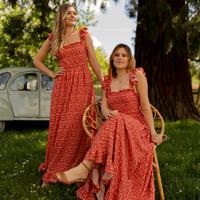 Îmbracaminte Femei Rochii lungi Céleste AURORE Roșu