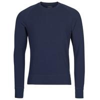 Îmbracaminte Bărbați Tricouri cu mânecă lungă  Polo Ralph Lauren LS CREW SLEEP TOP Albastru