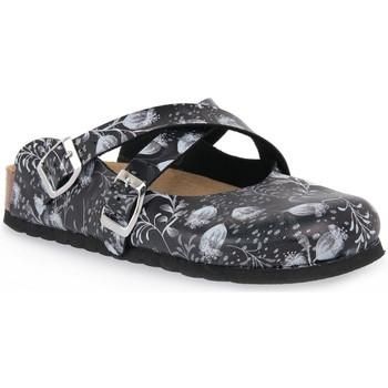 Pantofi Femei Saboti Bioline NERO IBIS Nero