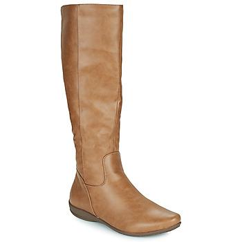 Pantofi Femei Cizme casual Moony Mood PLERILA Camel