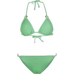 Îmbracaminte Femei Costum de baie 2 piese O'neill Capri Bondey Fixed Set Verde