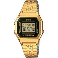 Ceasuri & Bijuterii Bărbați Ceasuri Digitale Casio LA680WEGA-1ER, Quartz, 28mm, 3ATM Auriu