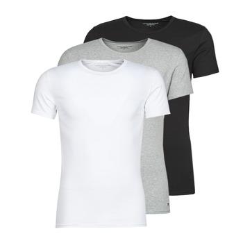 Îmbracaminte Bărbați Tricouri mânecă scurtă Tommy Hilfiger STRETCH TEE X3 Alb / Gri / Negru
