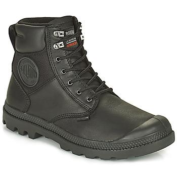 Pantofi Ghete Palladium SPORTCUFF ESSENTIAL WATERPROOF Negru