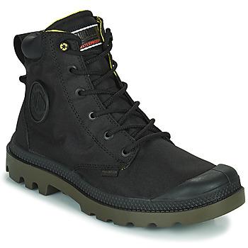 Pantofi Ghete Palladium PAMPA RECYCLED Negru