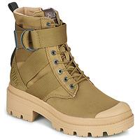 Pantofi Femei Ghete Palladium PALLABASE TACT S TX Verde
