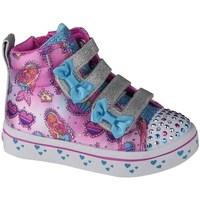 Pantofi Copii Pantofi sport stil gheata Skechers Twilites Mermaid Gems Roz