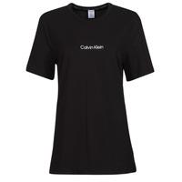 Îmbracaminte Femei Tricouri mânecă scurtă Calvin Klein Jeans SS CREW NECK Negru