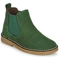 Pantofi Copii Ghete Citrouille et Compagnie HOVETTE Verde