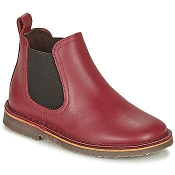 Pantofi Copii Ghete Citrouille et Compagnie HOVETTE Bordo