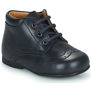 Pantofi Copii Ghete Citrouille et Compagnie PAULO Albastru