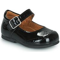 Pantofi Fete Balerin și Balerini cu curea Citrouille et Compagnie PULLO Lac / Negru