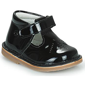 Pantofi Fete Balerin și Balerini cu curea Citrouille et Compagnie OTALI Negru / Lac
