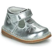 Pantofi Fete Balerin și Balerini cu curea Citrouille et Compagnie OTALI Argintiu
