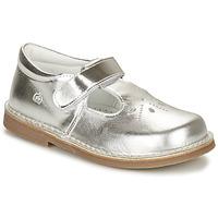 Pantofi Fete Balerin și Balerini cu curea Citrouille et Compagnie OTAL Argintiu