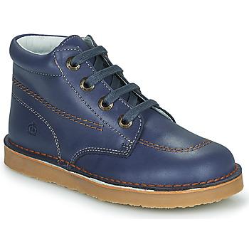 Pantofi Băieți Ghete Citrouille et Compagnie PIMON Albastru