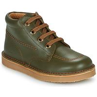 Pantofi Băieți Ghete Citrouille et Compagnie PIMON Verde