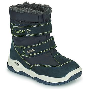 Pantofi Fete Cizme de zapadă Citrouille et Compagnie POUDOU Albastru / Verde