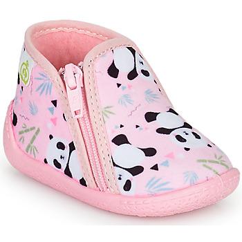 Pantofi Fete Papuci de casă Citrouille et Compagnie PIFOU Roz