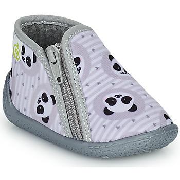Pantofi Copii Papuci de casă Citrouille et Compagnie PIFOU Gri