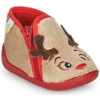 Pantofi Copii Papuci de casă Citrouille et Compagnie PARFALLE Bej