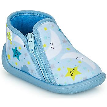 Pantofi Copii Papuci de casă Citrouille et Compagnie PIFOU Albastru-cerului