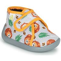 Pantofi Băieți Papuci de casă Citrouille et Compagnie PASTACARBO Gri