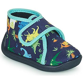 Pantofi Băieți Papuci de casă Citrouille et Compagnie PASTACARBO Albastru