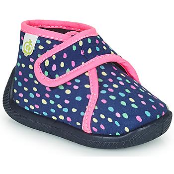 Pantofi Fete Papuci de casă Citrouille et Compagnie PASTACARBO Albastru