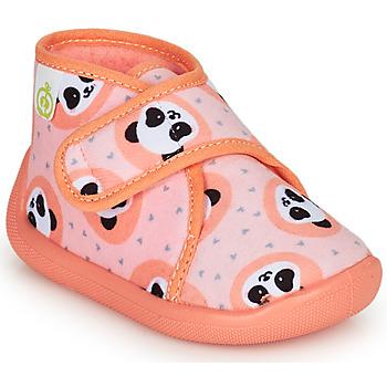 Pantofi Fete Papuci de casă Citrouille et Compagnie PASTACARBO Somon