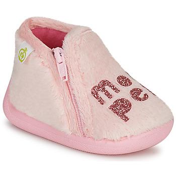 Pantofi Fete Papuci de casă Citrouille et Compagnie PRADS Roz