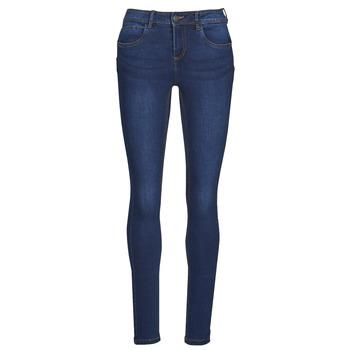 Îmbracaminte Femei Jeans slim Noisy May NMJEN Albastru / Culoare închisă