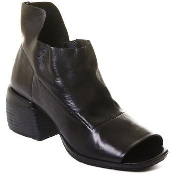 Pantofi Femei Botine Rebecca White T0402 |Rebecca White| D??msk?? kotn??kov?? boty z ?ern?? telec?? k??e,